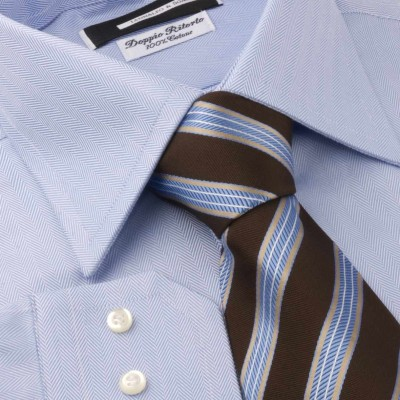 Koszula niebieska Celeste Diagonale M03 N° 9/3