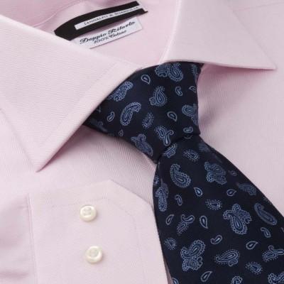 Koszula różowa Spigato Rosa M19 N°9/6