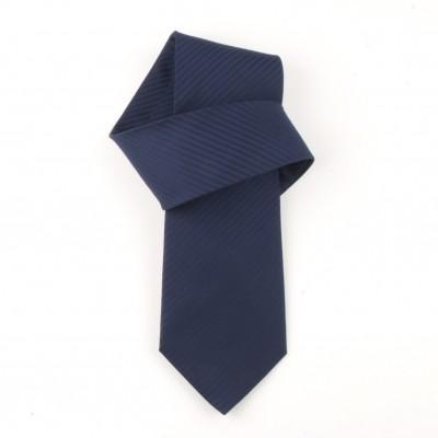 Jedwabny krawat granatowy Nº23