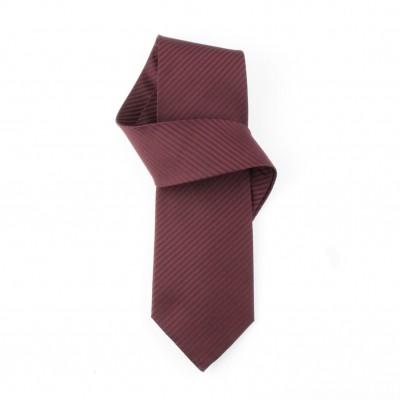 Jedwabny krawat bordowy Nº28