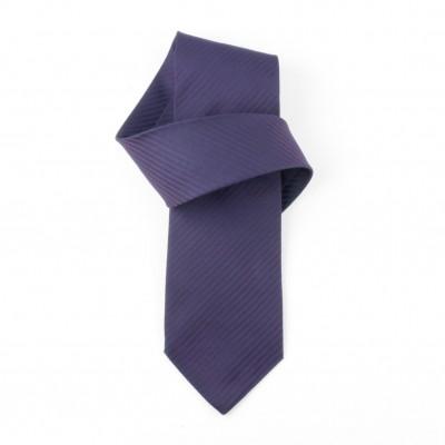 Jedwabny krawat fioletowy Nº32