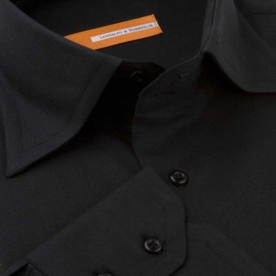 Koszula czarna Nero M06 N° 2992 Slim-fit