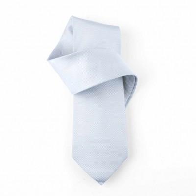 Jedwabny krawat niebieski Nº39