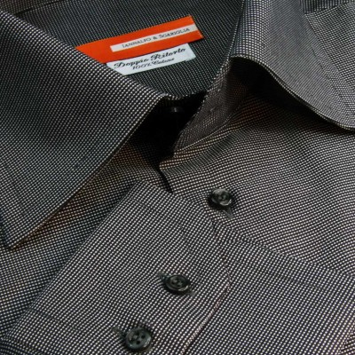 Koszula czarna Operato Nero M06 N° 10 Slim-Fit