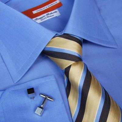 Koszula niebieska Celeste M12 N° 38/13 Slim-Fit