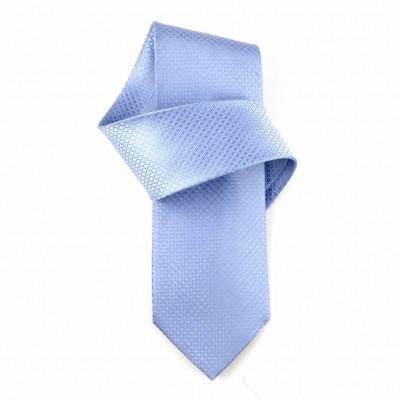 Jedwabny krawat niebieski Nº3